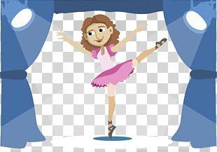 Ballet Dancer Stage PNG