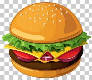 Hamburger Cheeseburger PNG