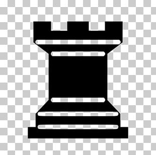 Chess Piece Rook Pawn White And Black In Chess PNG