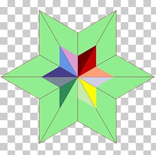 Line Symmetry Point Pattern PNG