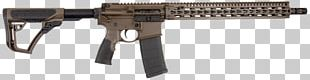 Trigger Daniel Defense Firearm Assault Rifle M4 Carbine PNG