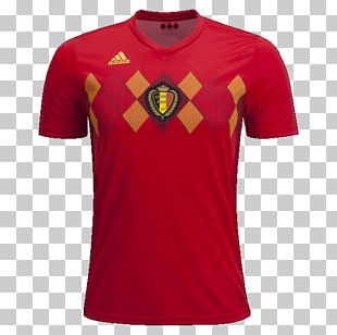 2018 FIFA World Cup Belgium National Football Team 2014 FIFA World Cup T-shirt Jersey PNG