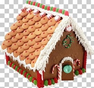 Gingerbread House Christmas Cake Gingerbread Man PNG