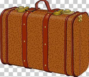Suitcase Baggage Bus PNG