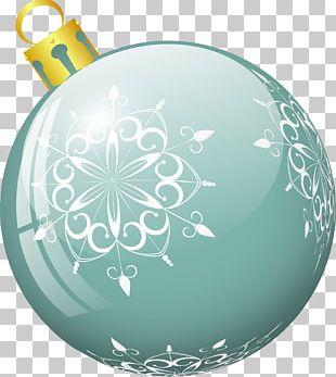 Light Blue Ball PNG