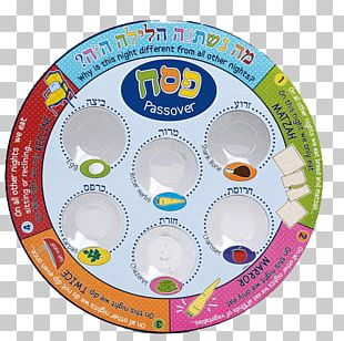 Passover Seder Plate Judaism PNG