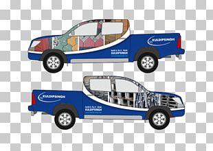 Truck Bed Part Compact Car Model Car Automotive Design PNG