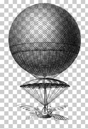 Hot Air Balloon Drawing Flight PNG