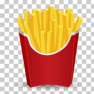 McDonald's French Fries Hamburger Fast Food PNG