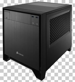 Computer Cases & Housings Power Supply Unit Mini-ITX Corsair Components Personal Computer PNG