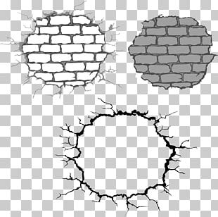 Stone Wall Brick Drawing PNG