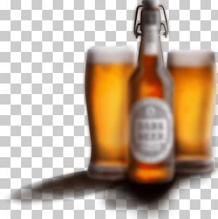 Lager Beer Bottle Wheat Beer Glass Bottle PNG