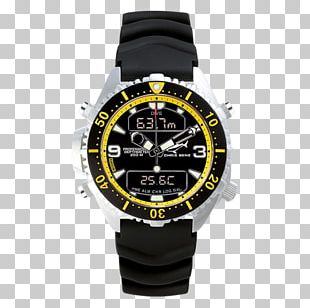 Diving Watch Depth Gauge Chronograph Underwater Diving PNG