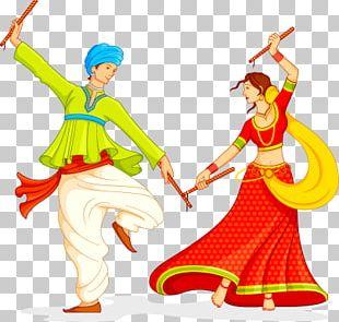 Garba Dandiya Raas Navaratri Song PNG