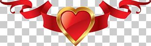 Valentine's Day Ribbon PNG