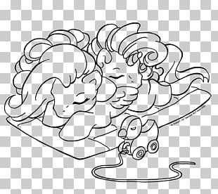 Pinkie Pie Pony Line Art Rainbow Dash Drawing PNG