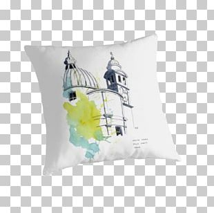 Watercolor Painting Work Of Art Throw Pillows Cushion PNG