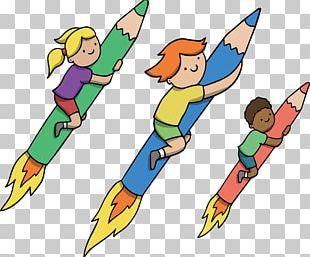 Pencil Rocket Pencil Rocket PNG