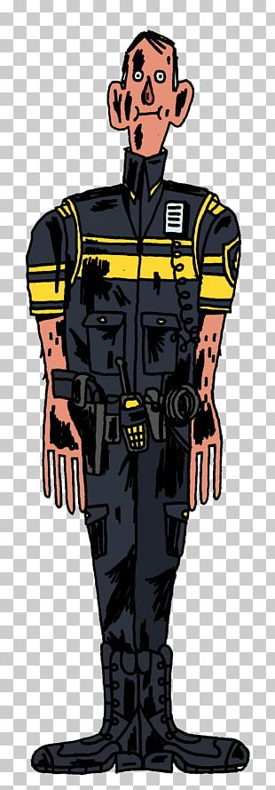 Illustration Cartoon Character Profession Uniform PNG
