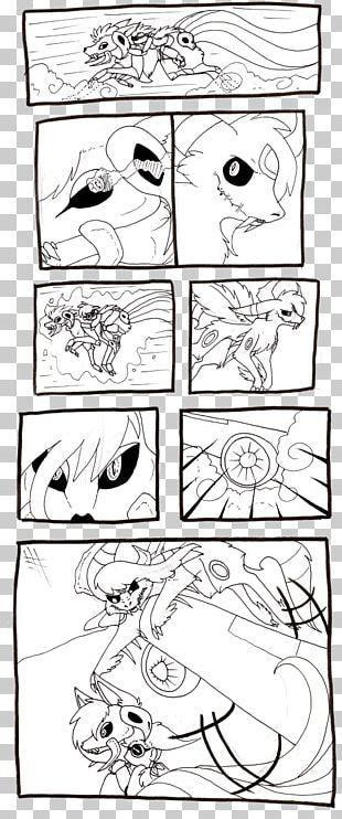 Comics Artist Line Art Sketch PNG