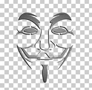 Guy Fawkes Mask Anonymous Ornament PNG