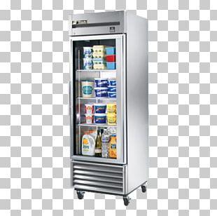 Refrigerator Refrigeration True T-23G-2 Sliding Glass Door Air Conditioning PNG