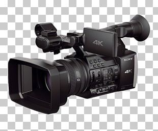Sony Handycam FDR-AX1 Camcorder 4K Resolution Video Cameras PNG