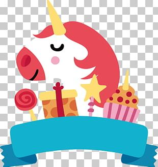 Happy Birthday To You Unicorn PNG