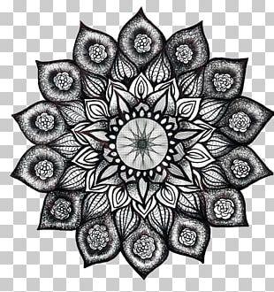 Henna Nelumbo Nucifera Flower Mehndi PNG