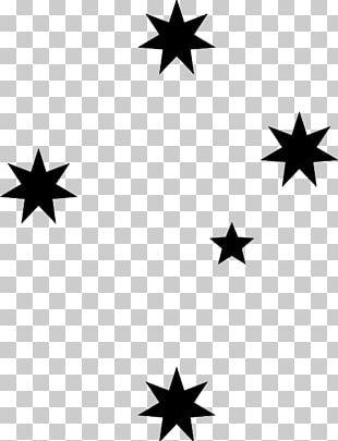 Southern Cross All-Stars Crux Stencil PNG