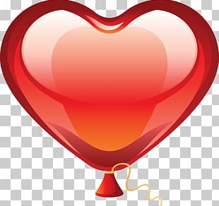 Heart Balloon PNG