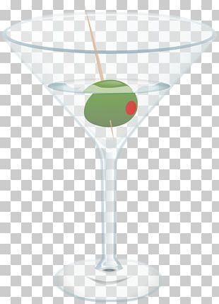 Martini Cocktail Glass Vodka PNG