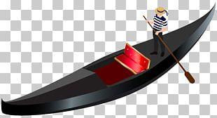Venice Boat Gondola PNG
