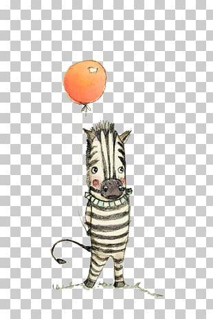Zebra Drawing U041fu0440u0438u043du0442 Animal Print Illustration PNG