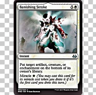 Magic: The Gathering Online Modern Masters 2017 Edition Banishing Stroke Wizards Of The Coast PNG