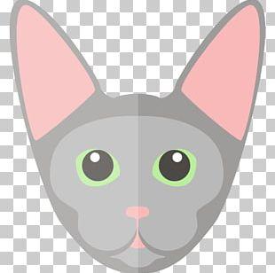 Whiskers Sphynx Cat Devon Rex Bombay Cat Munchkin Cat PNG
