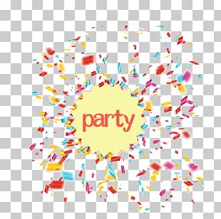 Confetti Party PNG