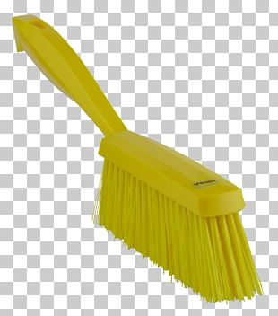 Brush Bristle Cleaning Mop Red PNG