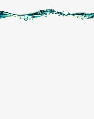The Flow Of Water Droplets PNG