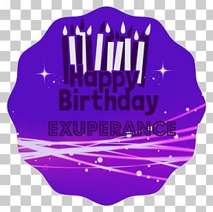 Birthday Logo Text Handgun Font PNG