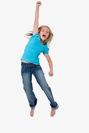 Dancing Kids PNG
