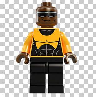 Lego Marvel Super Heroes Luke Cage Spider-Man Iron Man PNG