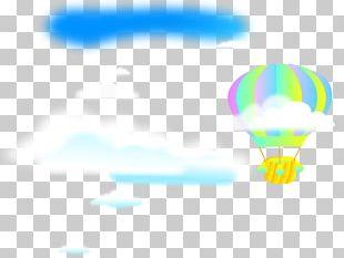 Hot Air Balloon Light Logo PNG