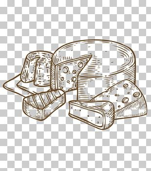 Milk Drawing Cheese Food PNG