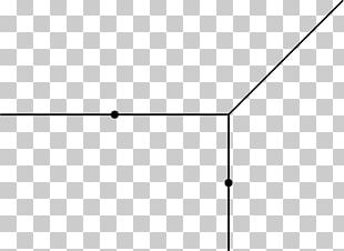 Line Point Angle White Font PNG