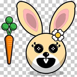 Domestic Rabbit European Rabbit Hare Drawing PNG
