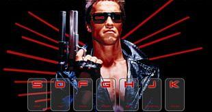 Arnold Schwarzenegger Sarah Connor The Terminator Skynet PNG