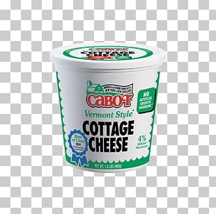 Milk Cabot Creamery Dairy Products Cottage Cheese PNG