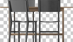 Chair Bar Stool Armrest Product Design Line PNG