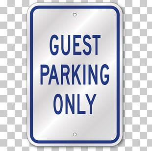 Car Park Disabled Parking Permit Sign PNG